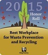 Best Workplaces for Recycling Honor 2015