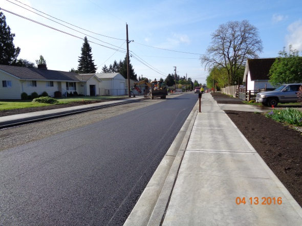 Paving 40th Ave S