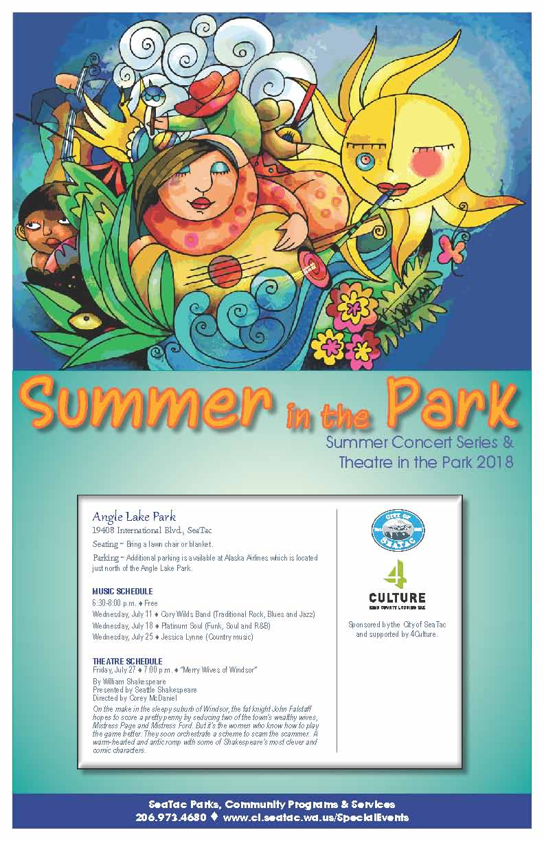 Music in the Park | City of SeaTac