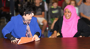 New City Councilmember Amina Ahmed