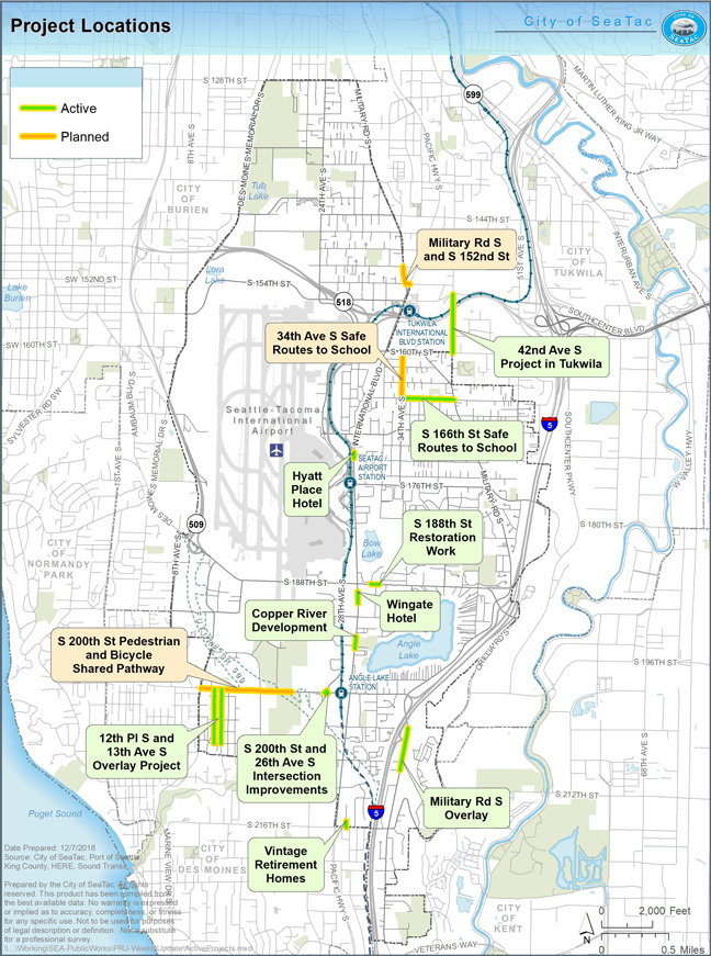Construction Projects | City of SeaTac