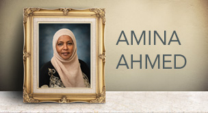 Councilmember Amina Ahmed Passing
